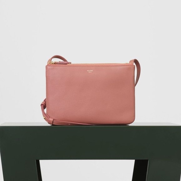 47a26c057566 Celine Handbags - Celine trio small in terracotta.